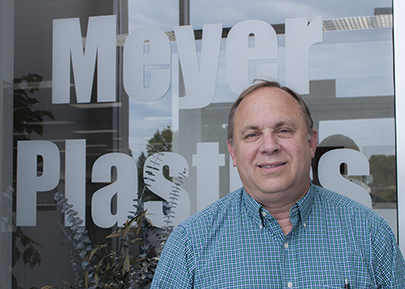 CEO of Meyer Plastics, Ralph Meyer